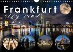 Frankfurt city view (Wandkalender 2019 DIN A4 quer) von Schöb,  Monika