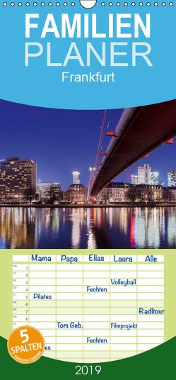 Frankfurt – Familienplaner hoch (Wandkalender 2019 , 21 cm x 45 cm, hoch) von Jelen,  Hiacynta