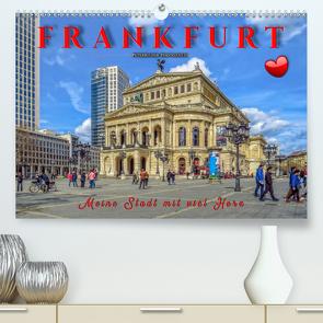 Frankfurt – meine Stadt mit viel Herz (Premium, hochwertiger DIN A2 Wandkalender 2020, Kunstdruck in Hochglanz) von Roder,  Peter