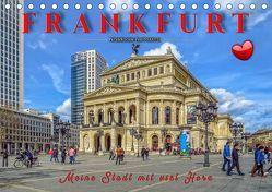Frankfurt – meine Stadt mit viel Herz (Tischkalender 2019 DIN A5 quer) von Roder,  Peter