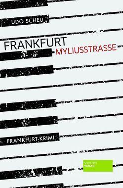 Frankfurt Myliusstraße von Scheu,  Udo