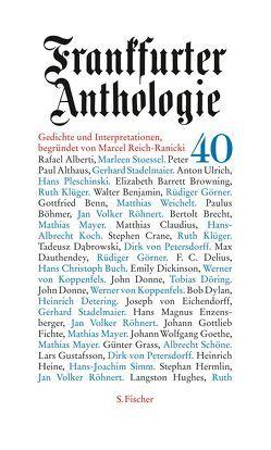 Frankfurter Anthologie von Spiegel,  Hubert