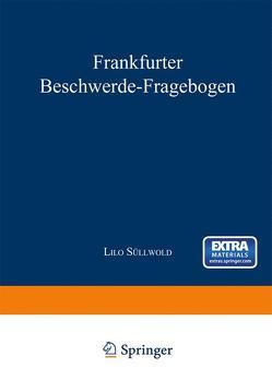 Frankfurter Beschwerde-Fragebogen von Süllwold,  Lilo