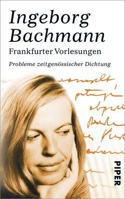 Frankfurter Vorlesungen von Bachmann,  Ingeborg