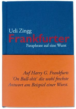 Frankfurter von Zingg,  Ueli
