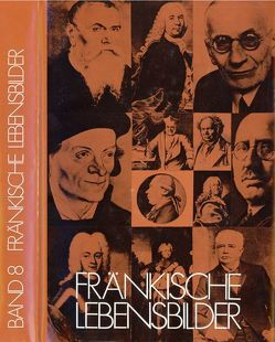 Fränkische Lebensbilder Band 8 von Pfeiffer,  Gerhard, Wendehorst,  Alfred