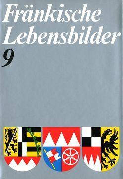 Fränkische Lebensbilder Band 9 von Pfeiffer,  Gerhard, Wendehorst,  Alfred