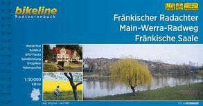 Fränkischer Radachter • Main-Werra-Radweg • Fränkische Saale