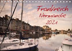 Frankreich Normandie (Tischkalender 2021 DIN A5 quer) von Schwarz,  Nailia