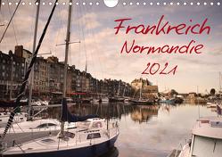 Frankreich Normandie (Wandkalender 2021 DIN A4 quer) von Schwarz,  Nailia