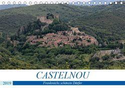 Frankreichs schönste Dörfer – Castelnou (Tischkalender 2019 DIN A5 quer) von Bartruff,  Thomas