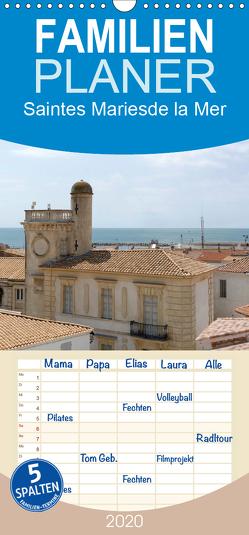 Frankreichs schönste Dörfer – Saintes Maries de la Mer – Familienplaner hoch (Wandkalender 2020 , 21 cm x 45 cm, hoch) von Bartruff,  Thomas