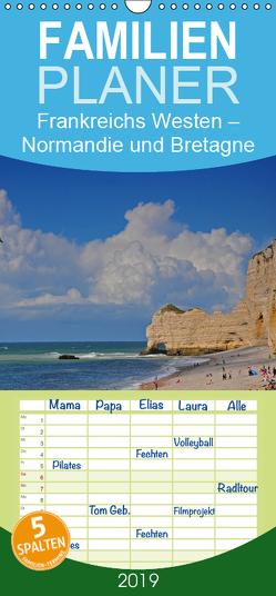Frankreichs Westen – Normandie und Bretagne – Familienplaner hoch (Wandkalender 2019 , 21 cm x 45 cm, hoch) von Ratzer,  Reinhold