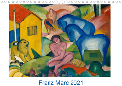 Franz Marc 2021 (Wandkalender 2021 DIN A4 quer) von - Bildagentur der Museen,  ARTOTHEK