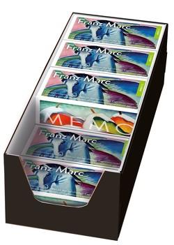 Franz Marc Memo. 10 Spiele im Verkaufsdisplay