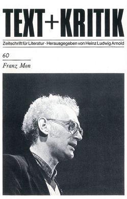 Franz Mon von Arnold,  Heinz Ludwig