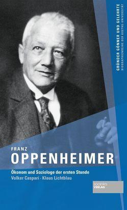 Franz Oppenheimer von Caspari,  Volker