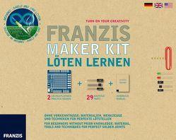 Franzis Maker Kit Löten für Maker von Kainka,  Burkhard, Kainka,  Fabian