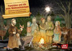 Franziskus und die erste Weihnachtskrippe. Kamishibai Bildkartenset. von Brandt,  Susanne, Kohne,  Diana, Maywald,  Eva-Maria