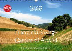 Franziskusweg – Camino di Assisi (Wandkalender 2019 DIN A3 quer) von Luef,  Alexandra