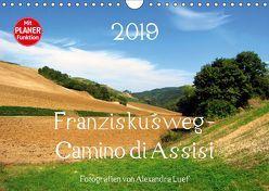Franziskusweg – Camino di Assisi (Wandkalender 2019 DIN A4 quer) von Luef,  Alexandra