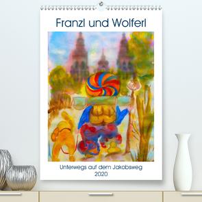 Franzl und Wolferl (Premium, hochwertiger DIN A2 Wandkalender 2020, Kunstdruck in Hochglanz) von Mairet,  Michèle