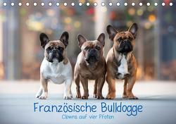Französische Bulldogge – Clowns auf vier Pfoten (Tischkalender 2021 DIN A5 quer) von Wobith Photography - FotosVonMaja,  Sabrina