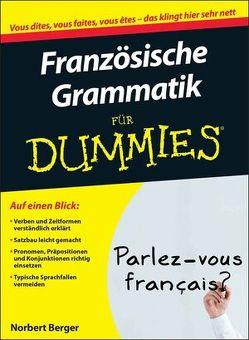 Französische Grammatik für Dummies von Berger,  Norbert