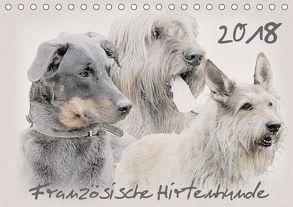 Französische Hirtenhunde 2018 (Tischkalender 2018 DIN A5 quer) von Redecker,  Andrea