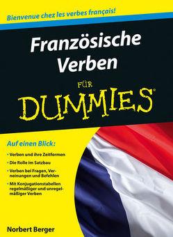 Französische Verben für Dummies von Berger,  Norbert
