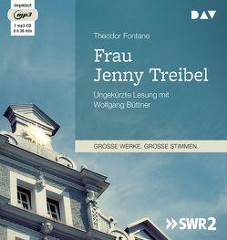 Frau Jenny Treibel von Büttner,  Wolfgang, Fontane,  Theodor