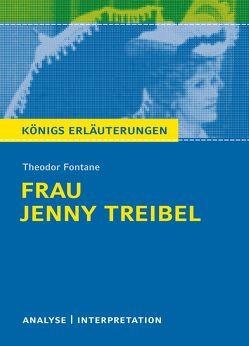 Frau Jenny Treibel von Theodor Fontane. von Fontane,  Theodor, Lowsky,  Martin