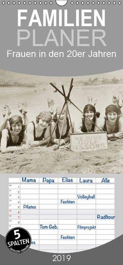 Frauen in den 20er Jahren – Familienplaner hoch (Wandkalender 2019 , 21 cm x 45 cm, hoch) von Images,  Timeline