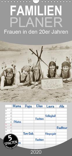 Frauen in den 20er Jahren – Familienplaner hoch (Wandkalender 2020 , 21 cm x 45 cm, hoch) von Images,  Timeline