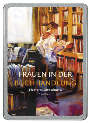 Frauen in der Buchhandlung