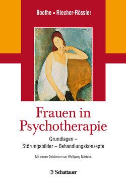 Frauen in Psychotherapie von Boothe,  Brigitte, Riecher-Rössler,  Anita