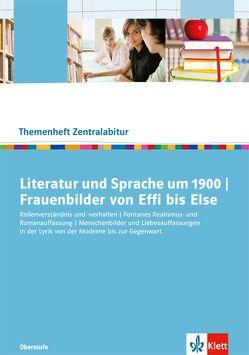 Literatur und Sprache um 1900. Frauenbilder von Effi bis Else von Borcherding,  Wilhelm, Nutz,  Maximilian