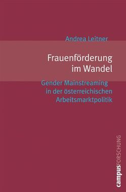Frauenförderung im Wandel von Leitner,  Andrea