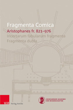 FrC 10.11 Aristophanes fr. 821–976 von Bagordo,  Andreas