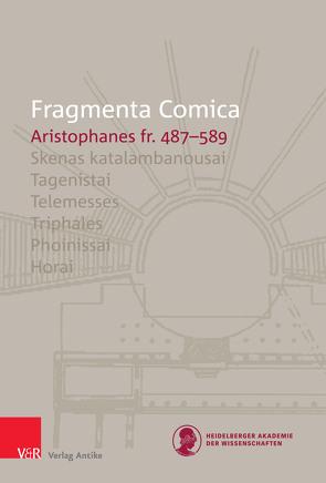 FrC 10.8 Aristophanes fr. 487–589 von Bagordo,  Andreas