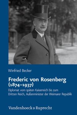 Frederic von Rosenberg (1874–1937) von Becker,  Winfried
