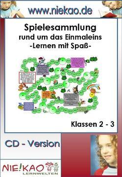 Freiarbeit – motivierende Spiele rund um das Einmaleins von Ammesdörfer,  Birgit, Kiel,  Steffi, Kiel,  Udo