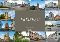 Freiberg Impressionen (Wandkalender 2019 DIN A2 quer) von Meutzner,  Dirk