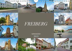 Freiberg Impressionen (Wandkalender 2019 DIN A4 quer) von Meutzner,  Dirk
