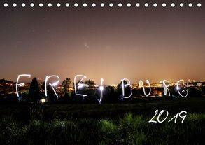 Freiburg bei Nacht (Tischkalender 2019 DIN A5 quer) von LISA,  FOTOGRÄFIN