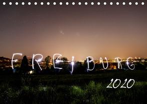 Freiburg bei Nacht (Tischkalender 2020 DIN A5 quer) von LISA,  FOTOGRÄFIN