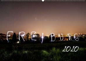 Freiburg bei Nacht (Wandkalender 2020 DIN A2 quer) von LISA,  FOTOGRÄFIN
