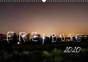 Freiburg bei Nacht (Wandkalender 2020 DIN A3 quer) von LISA,  FOTOGRÄFIN