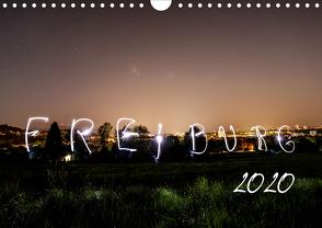 Freiburg bei Nacht (Wandkalender 2020 DIN A4 quer) von LISA,  FOTOGRÄFIN