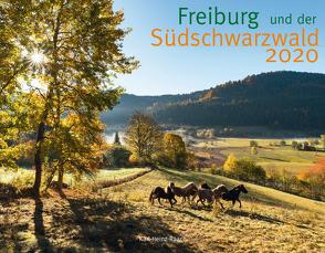 FREIBURG UND DER SÜD-SCHWARZWALD 2020 von Raach,  Karl-Heinz